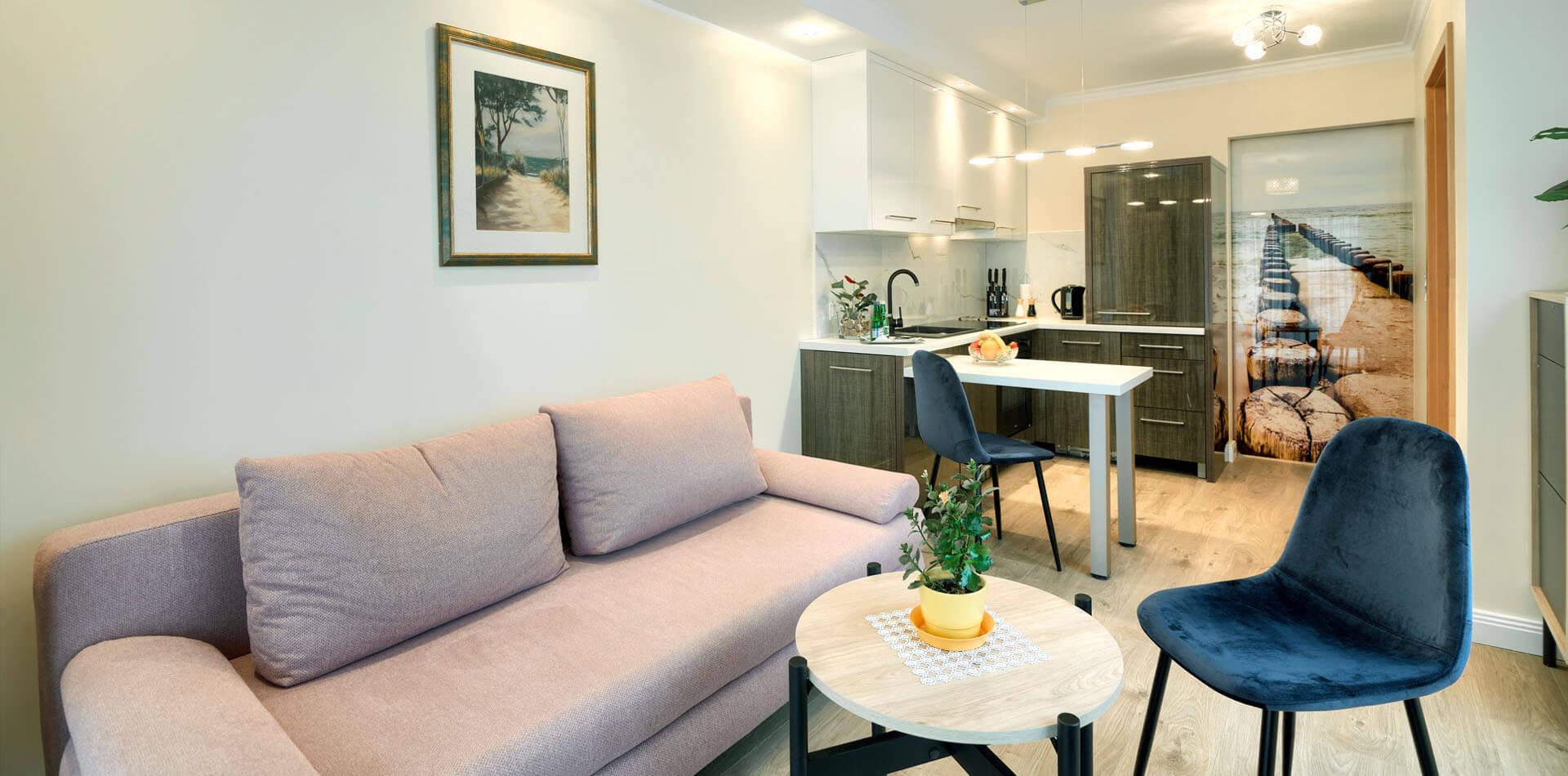 Komfortowe apartamenty nad morzem w Mielnie