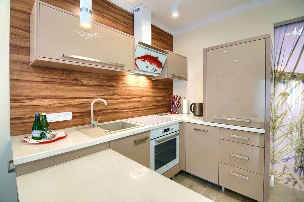 Apartament Allegro - aneks kuchenny