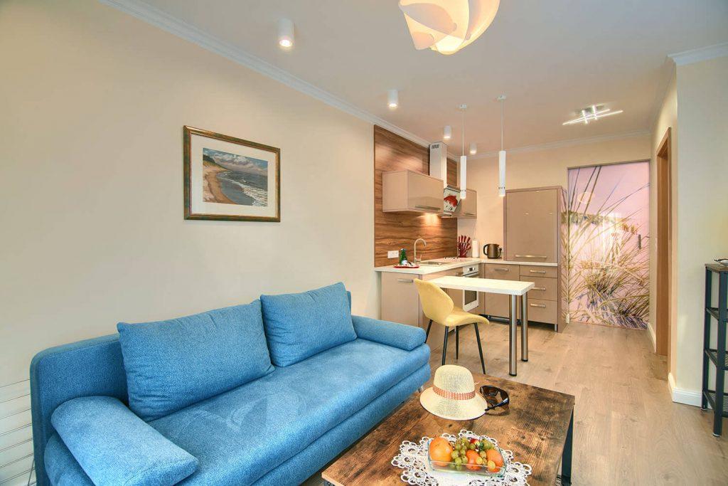 Apartament Allegro - pokój wypoczynkowy
