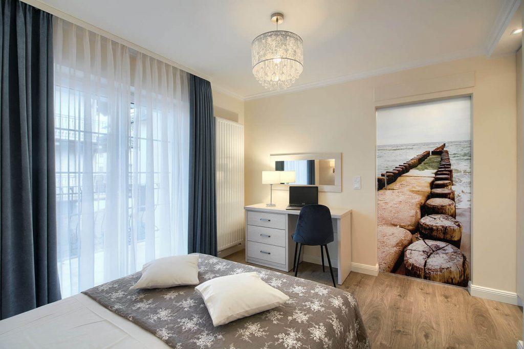 Apartament Andante - sypialnia