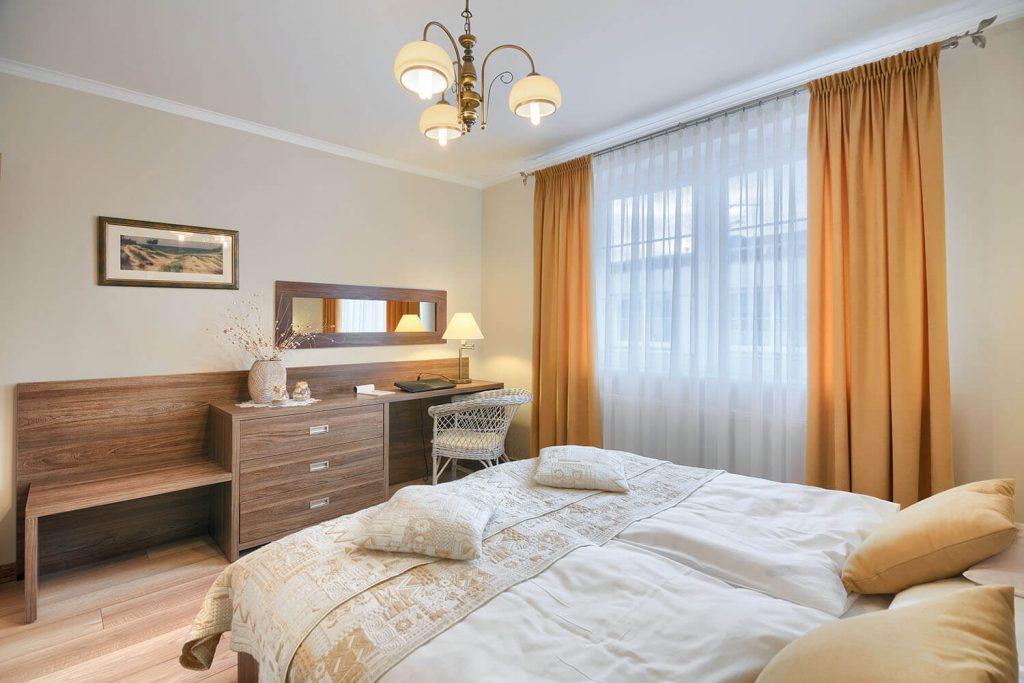 Apartament Beta - sypialnia