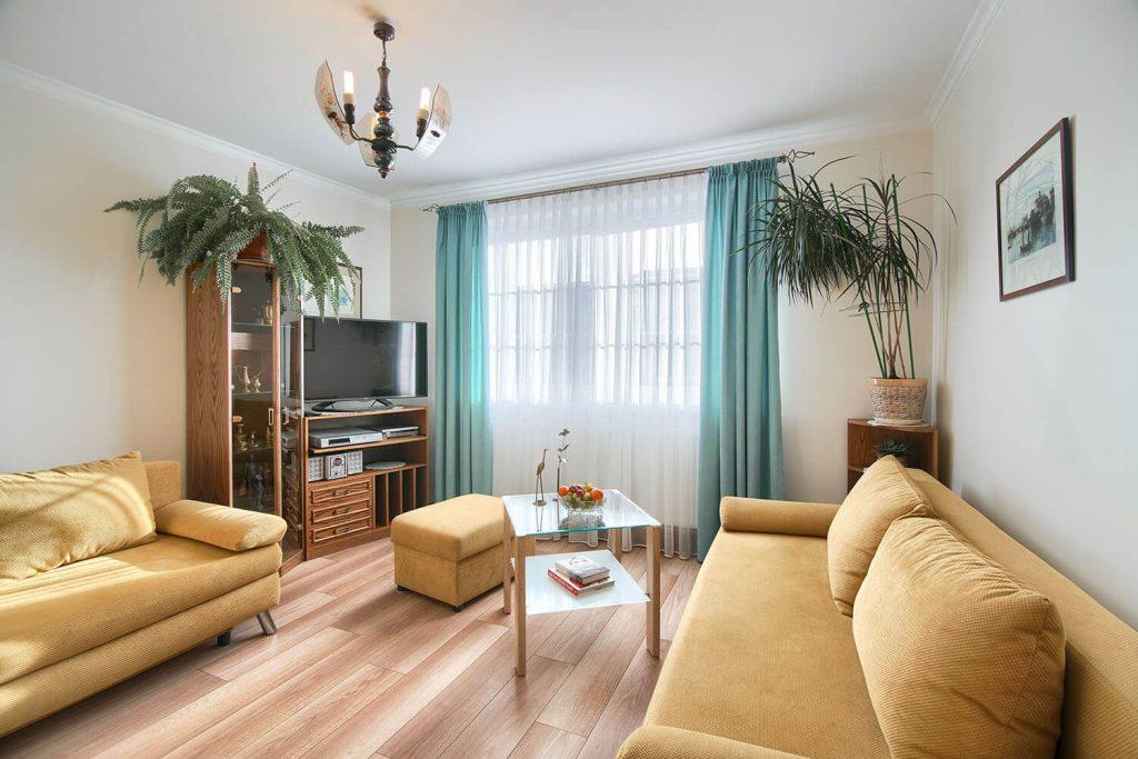Apartament Beta  - pokój dzienny