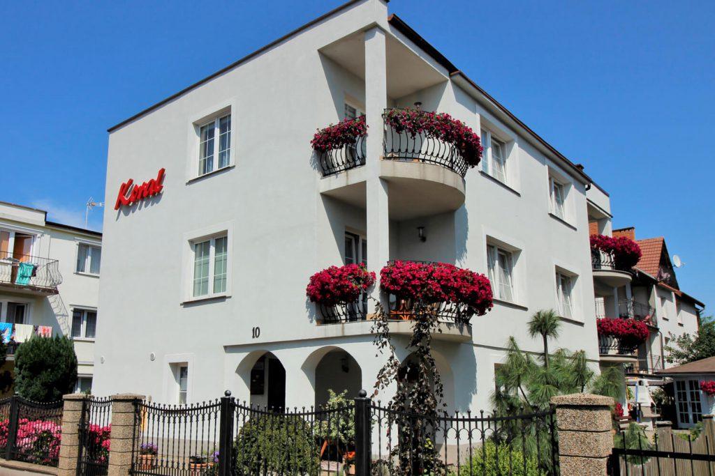 Wynajem apartamentów i pokoi w Mielnie